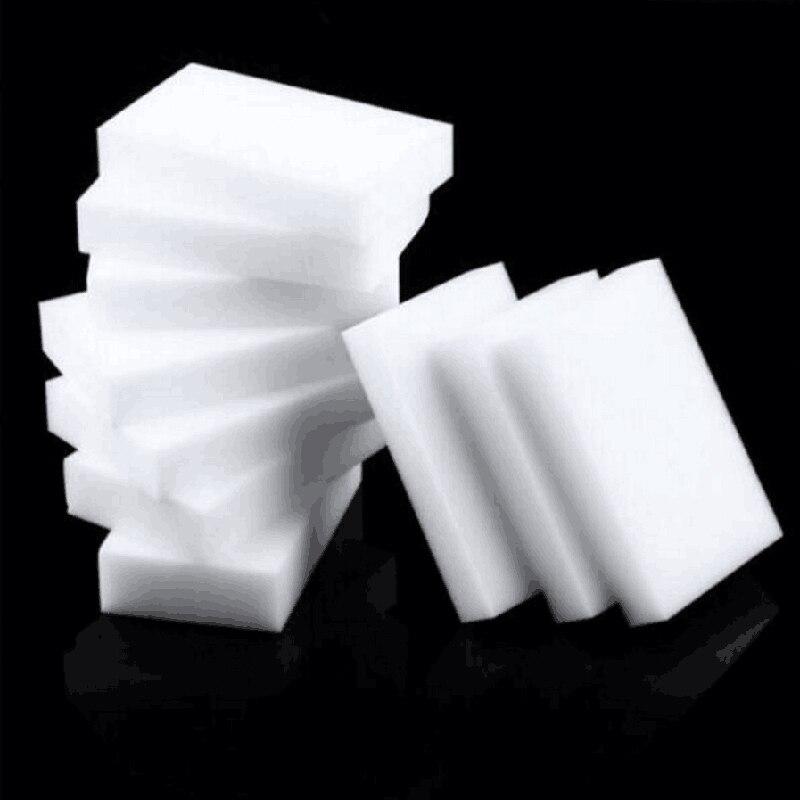 50 шт./лот 10*6*1 см волшебная губка Ластик меламиновая губка кухонная офисная приспособление для чистки в ванной комнате аксессуар Чистка посу...