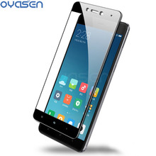 Full Cover Tempered Glass For Xiaomi Redmi 4X Note 4 4X Pro Prime 3D Curved Screen Protector For Redmi Note 4 Global Version цена