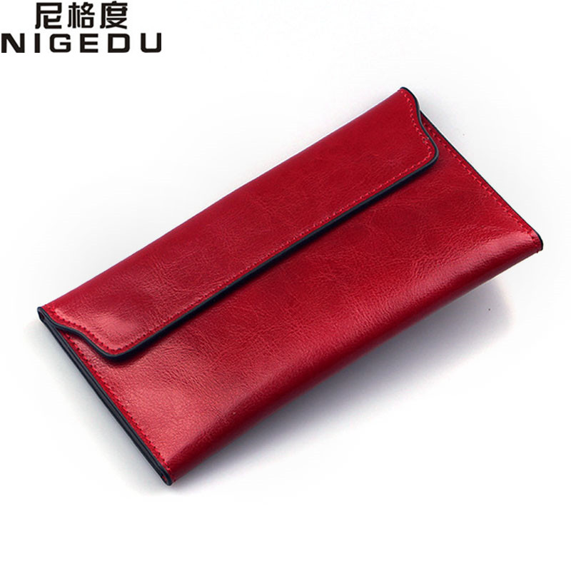 NIGEDU Brand Genuine Leather Women s