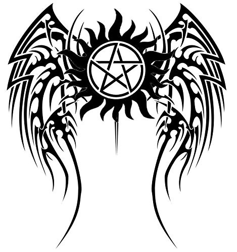 Car Styling Anti Possession Symbol Car Decal Sticker Supernatural