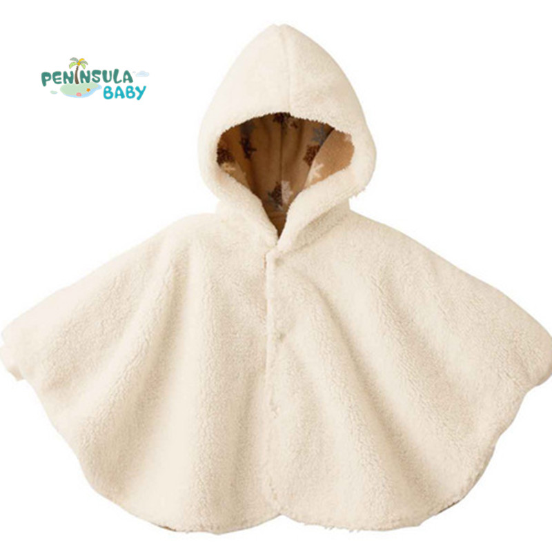 d5a602a01 New 2016 Fashion Baby Coats Boys Girl's Smocks Outwear Fleece Cloak Jumpers  Mantle Children's Clothing Poncho Cape-in Jackets & Coats from Mother & Kids