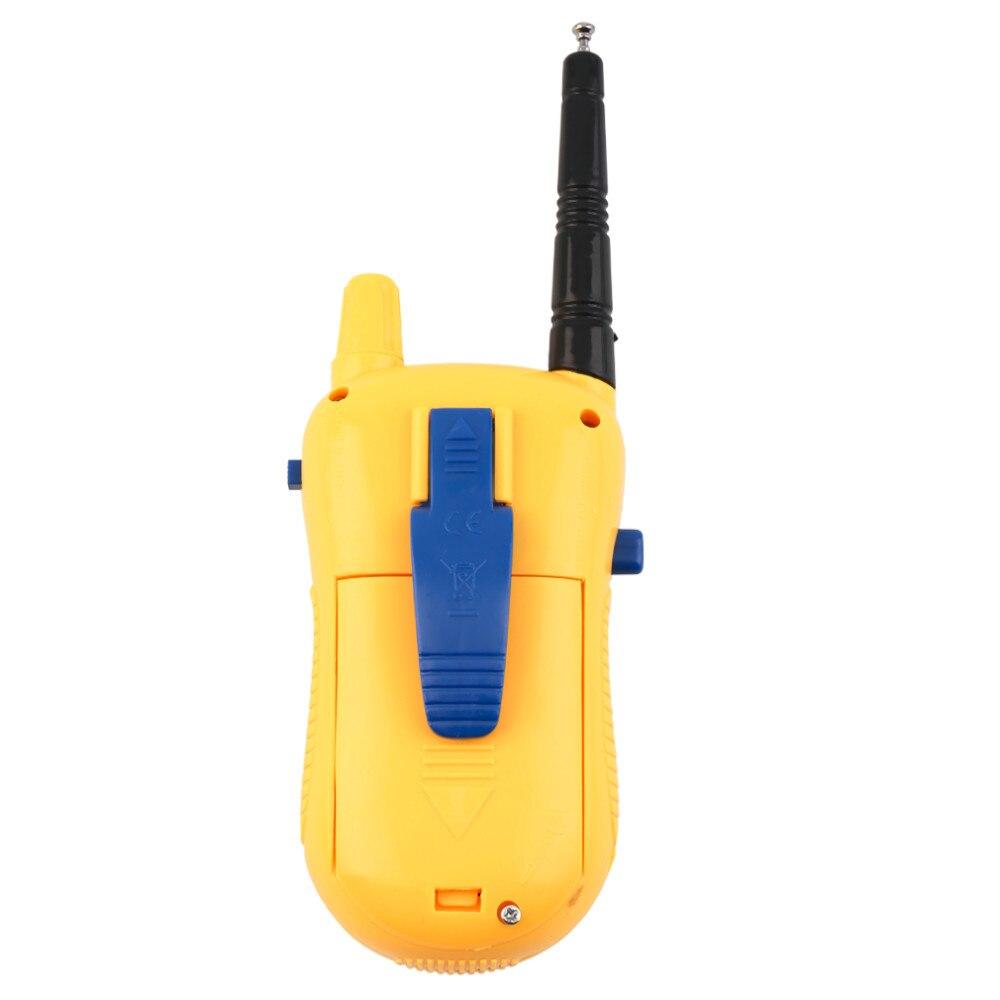 Abbyfrank 2 Pcs Mini Elektronik Walkie Talkie Mainan Spy Gadget - Mainan elektronik - Foto 3