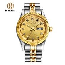 STARKING Luxury Women Quartz Watch Woman Gold Business Watches Female Ladies 316L Stainless Steel Wristwatch Vintage Timepieces