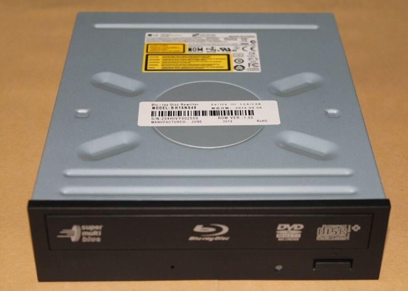 OEM LG BH16NS48 SATA BDXL Super Multi Blue Internal SATA 16x Blu-ray Disc Rewriter оптический привод blu ray rw lg bu40n внутренний sata черный oem
