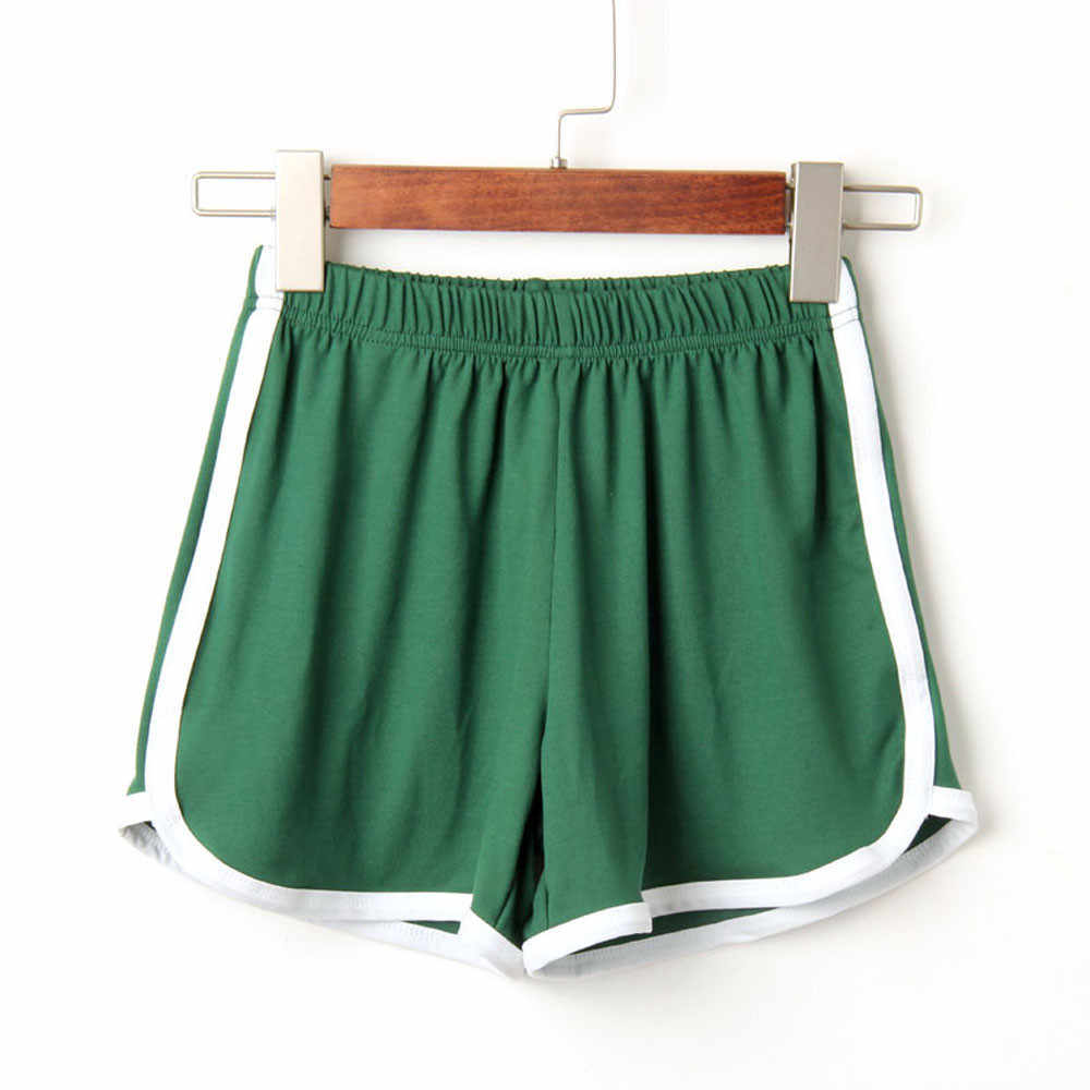 Summer Shorts Women Gym Shorts Ladies High Waist Fashion Women Lady Summer Short Feminino Plus Size F2