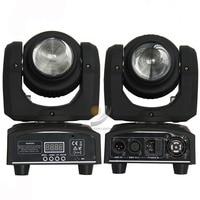 Free Shipping TIPTOP Stage Light 2pcs Lot Double Side Mini Led Moving Head Light 1pcs 10W