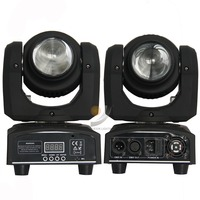 Free Shipping TIPTOP Stage Light 2pcs Lot Double Side Mini Led Moving Head Light 1pcs 10W