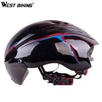 WEST BIKING Bicycle Helmet Goggles Ultralight Integrally EPS Bike Safety Helmet Specialized Bike Cycling Helmet With