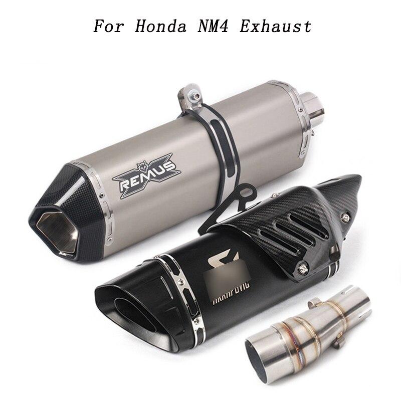 Мотоцикл для Honda NM4 выхлопная труба средняя Соединительная труба глушитель система для HONDA NM4