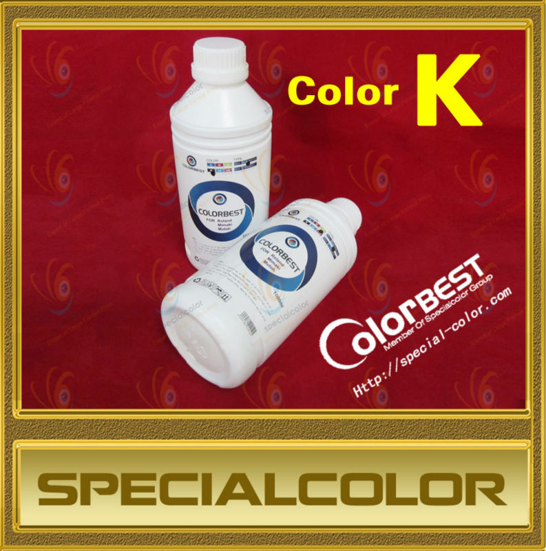 High quality!! 1000ml/Bottle Color K Textile Pigment Ink for large format printer free shipping ink buffer bottle for large format printer aprint polaris printer