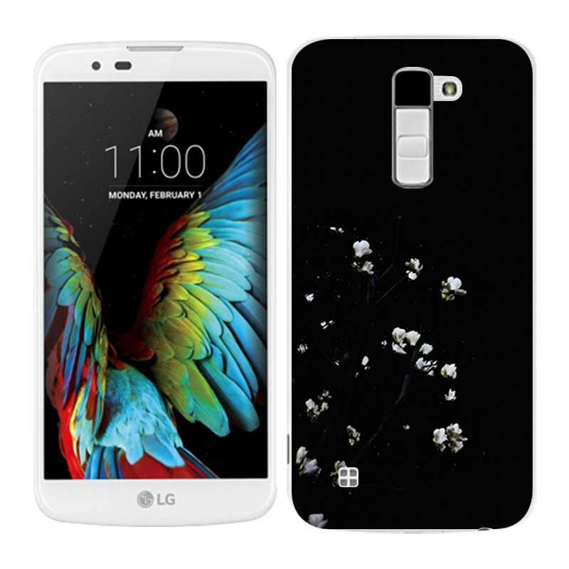 LG K10 מקרי חץ לוח צבוע טלפון חזרה Fundas כיסוי סיליקון עבור K10 Lte K 10 M2 K410 k420N K430DS F670 Coque