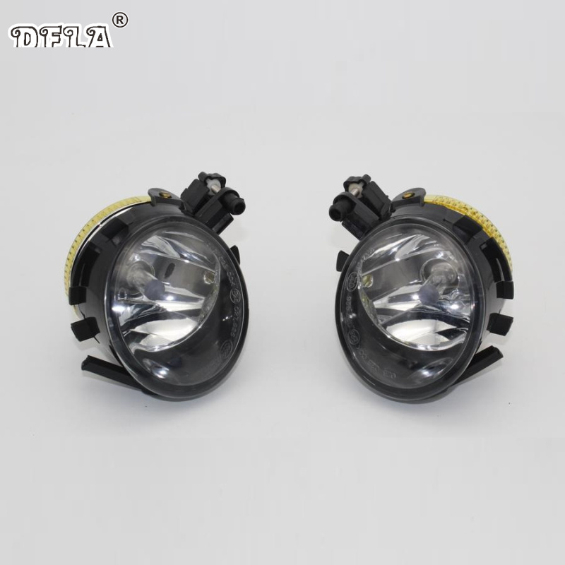 Car Light For Seat Altea Leon 2007 2008 2009 2010 2011 2012 2013 Car-styling Front Halogen Fog Light Fog Lamp fr metal car stickers emblem badge for seat leon fr cupra ibiza altea exeo formula racing car accessories car styling