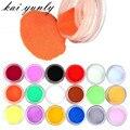 Kai yunly 18 Colores Diseño Talla 3D Nail Art Glitter Shinning Paillette Gel ULTRAVIOLETA de Acrílico Del Polvo Polaco Tips Set de Maquillaje DIY de Octubre 3