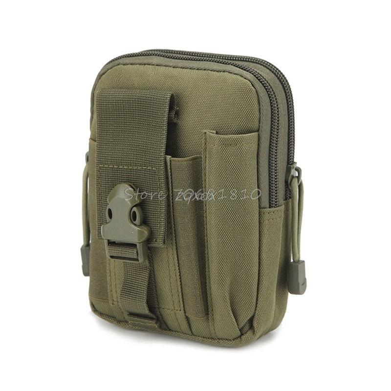 För Taktisk hölster Militär Molle höft midje bälte väska - Reservdelar och tillbehör för mobiltelefoner - Foto 4
