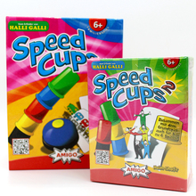 Card Games Speed Cups, Playing Cards Game Family And Children Board Games Indoor Games With English Instru