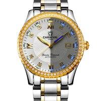 Карнавальная майка бренд класса люкс Для мужчин s часы автоматические часы с автоподзаводом Для мужчин сапфир reloj hombre светящиеся стрелки