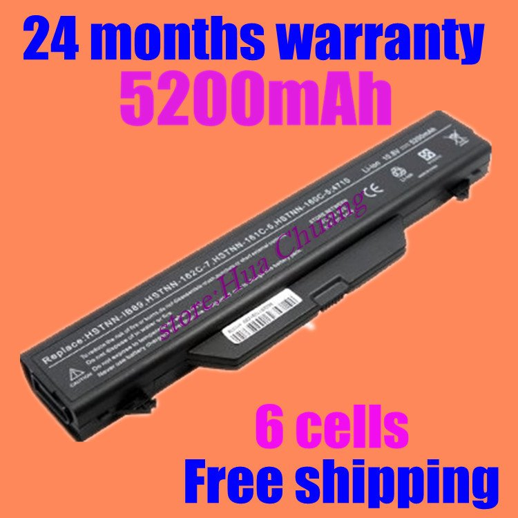 JIGU Free shipping 6 cells Laptop Battery For HP ProBook 4510s 4710s 4710s/CT 4720s 4510s/CT 4515s 4515s/CT 4520s