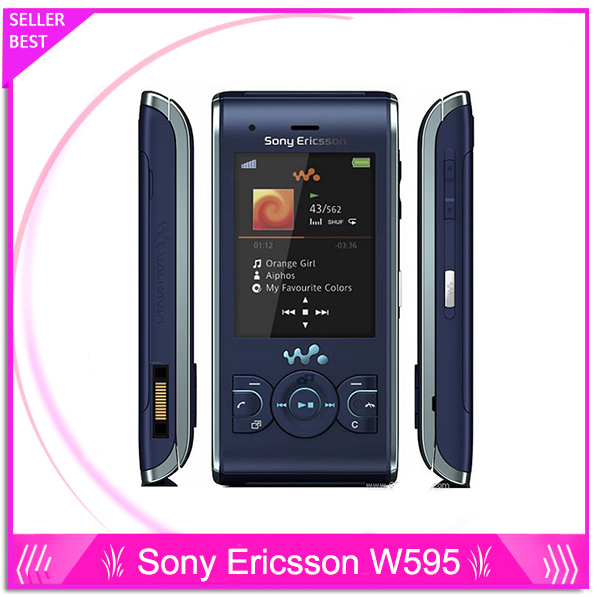 W595 Sony Ericsson W595 Original Unlocked Cell Phone Free Shipping