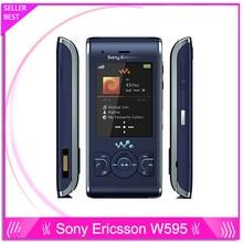 Sony Ericsson W595 W595 Оригинальный Разблокирована Сотовый Телефон Бесплатная Доставка
