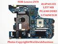 A estrenar original del ordenador portátil placa base placa madre para lenovo z570 hm65 pga989 48.4pa01.021 gt540m 2 gb ddr3 probado completamente