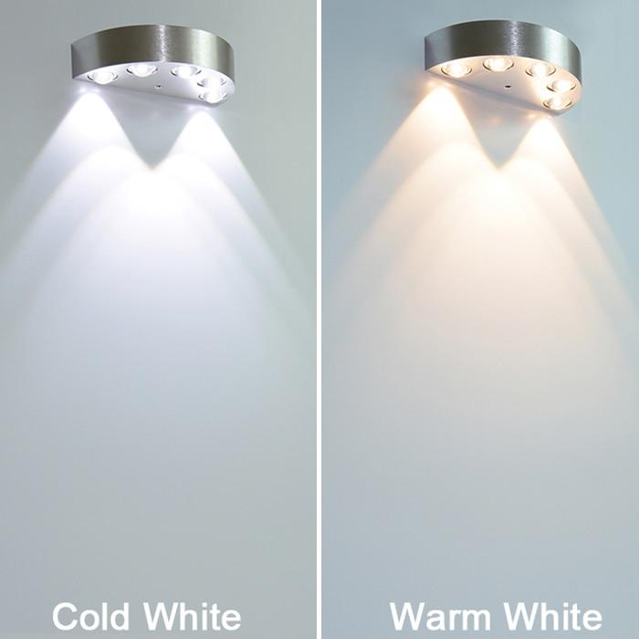 LED Sconce Səthi quraşdırılmış 5W 6W Divar Çırağı Daxili - Daxili işıqlandırma - Fotoqrafiya 3