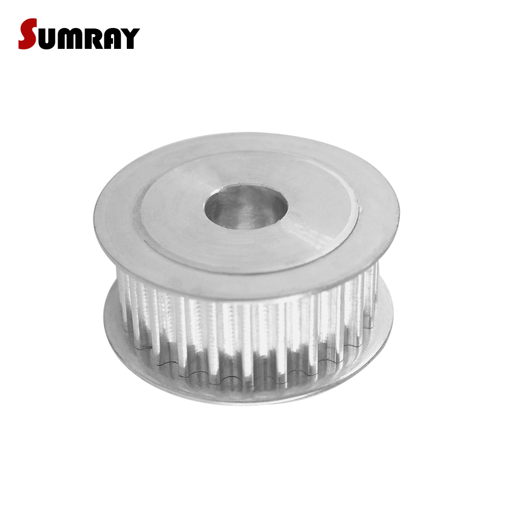 SUMRAY 5M 25T Timing Belt Pulley 5/6/6.35/7/8/10/12/12.7/14/15/16/17/20/22/25mm Belt Width 16mm Synchronous Wheel Pulley 1PC/LotSUMRAY 5M 25T Timing Belt Pulley 5/6/6.35/7/8/10/12/12.7/14/15/16/17/20/22/25mm Belt Width 16mm Synchronous Wheel Pulley 1PC/Lot