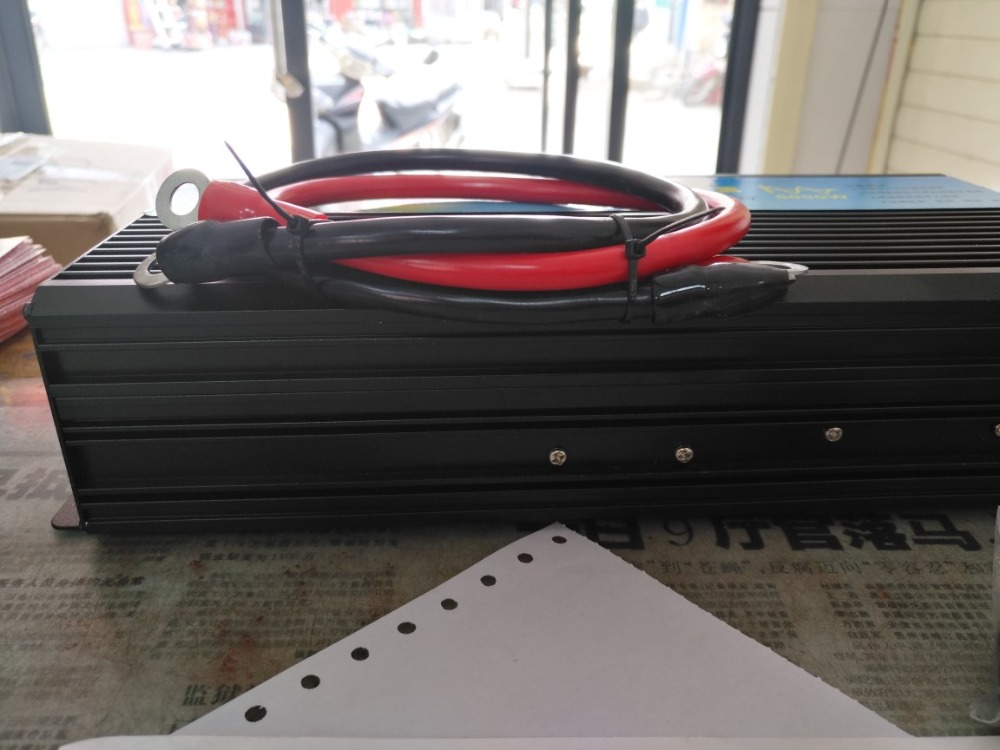 Free shipping dc to ac power inverter 2500w peak power 5000w Pure sine wave home/wind/car/solar power inverter 12 220 fedex dhl ups free shipping portable solar power inverter 2500w pure inverter peak 5000watt 2500w inversor puro