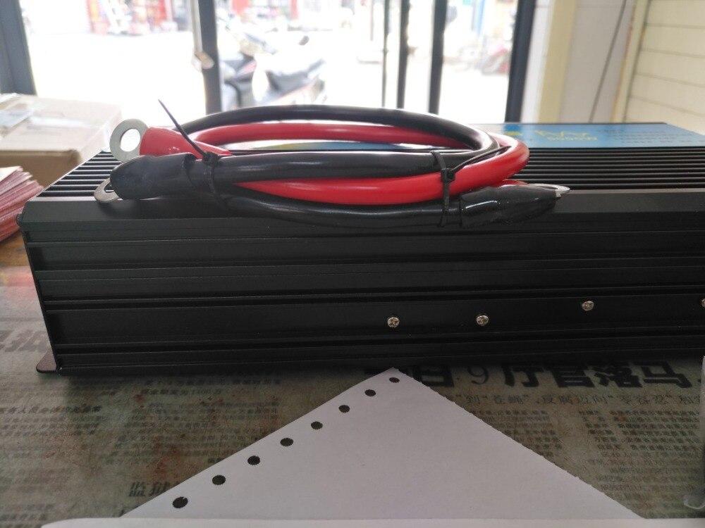 цена на Free shipping dc to ac power inverter 2500w peak power 5000w Pure sine wave home/wind/car/solar power inverter 12 220