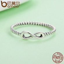 Infinity Elegant Finger Rings for Women Wedding Engagement Jewelry
