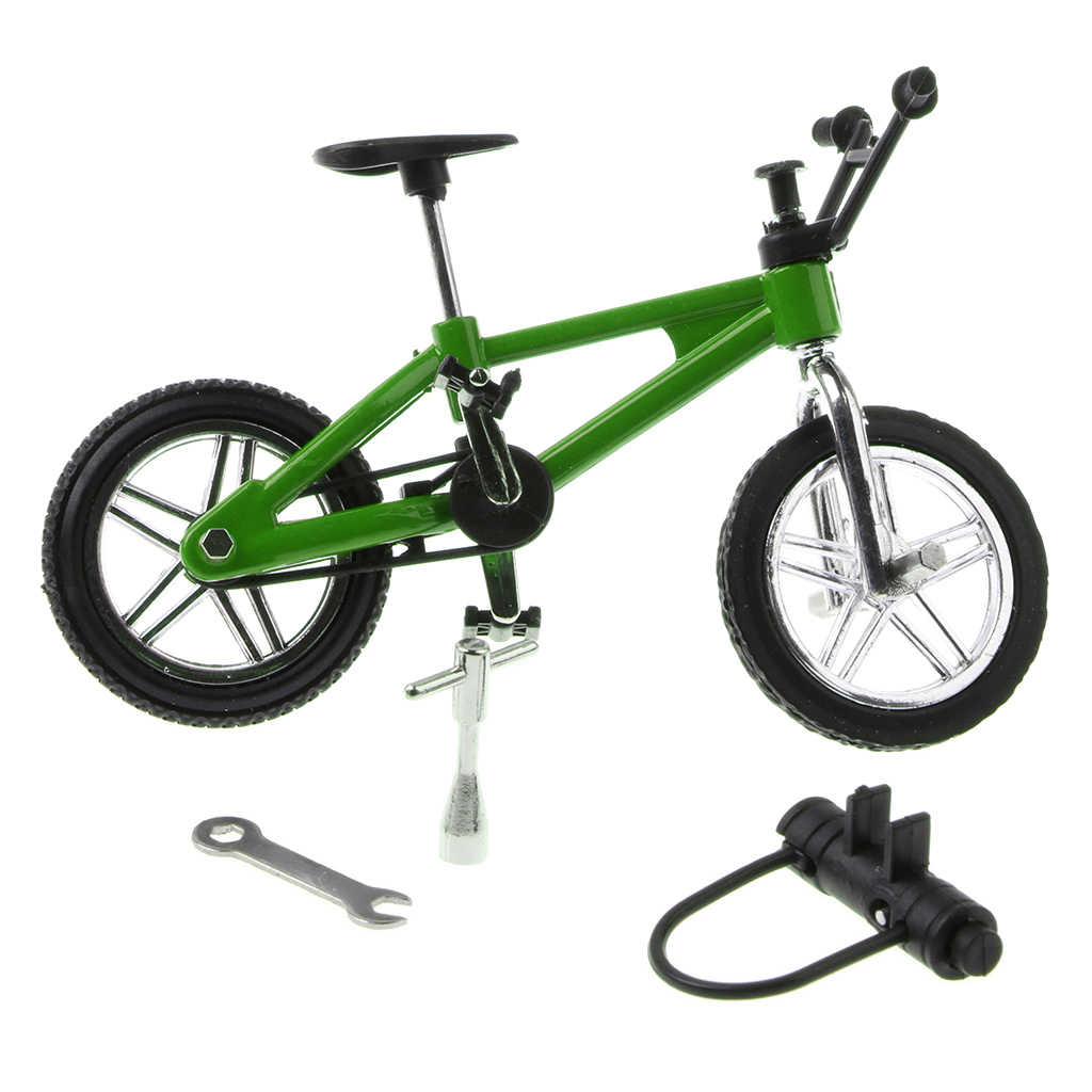 1:24 Miniatureอัลลอยด์จักรยานเสือภูเขาจักรยานDiecastรุ่นรถGadgetโต๊ะของเล่นอุปกรณ์เสริม