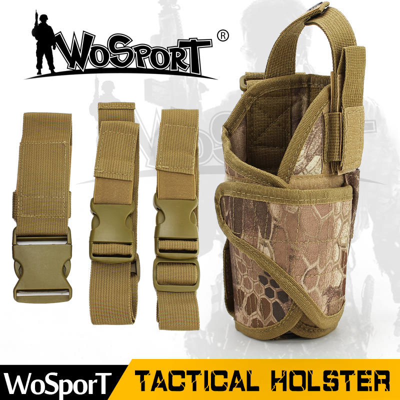 WoSporT Tactical Holster Outdoor Military Army Hunting tornado leg Bag War Game Functional Paintball Gun Case