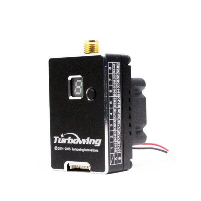 ФОТО Newest Turbowing 5.8G 40CH 20mW/2000mW Switchable FPV Transmitter For RC Multirotor Parts