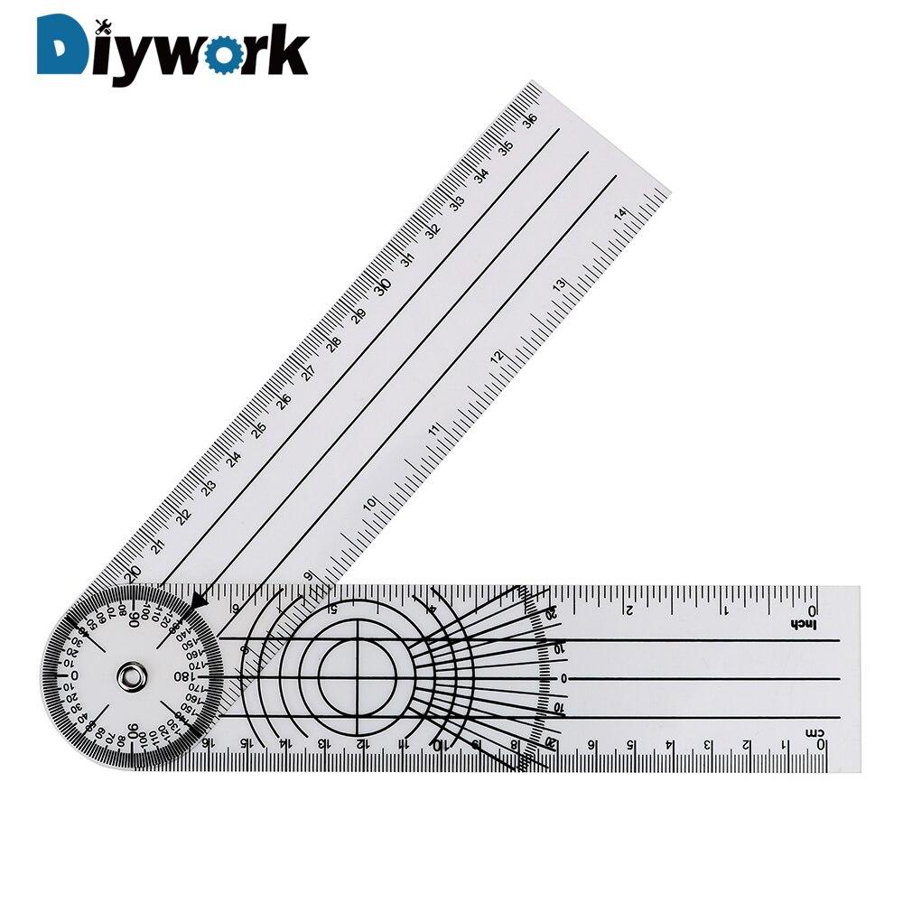 Многофункциональный Гониометр DIYWORK, вращающийся на 360 градусов, измерительный инструмент