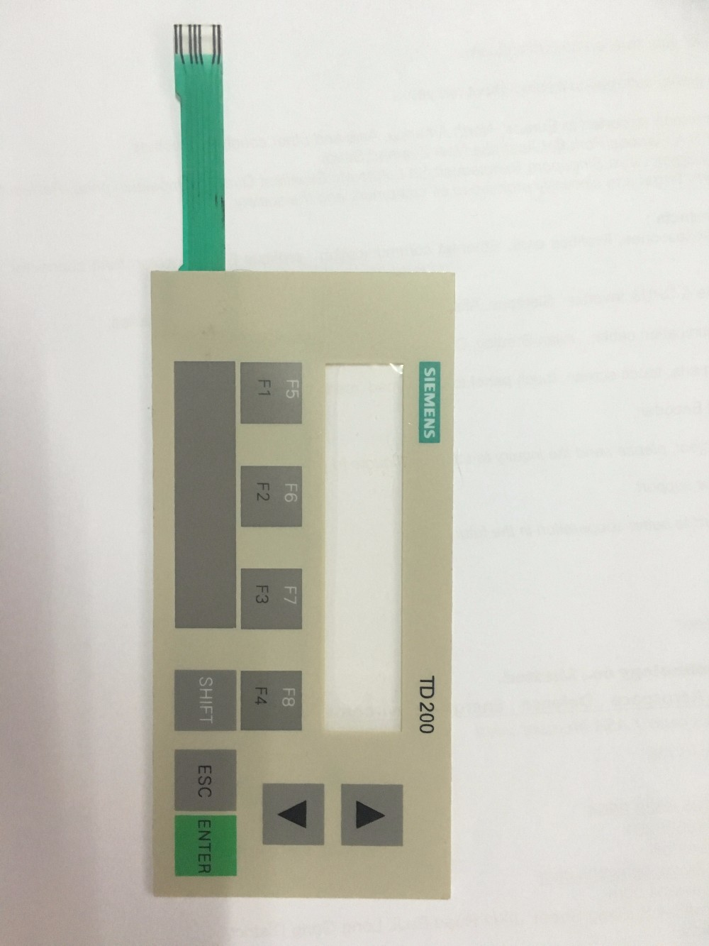 6AG1272-0AA30-2YA1,6AG1 272-0AA30-2YA1,TD200 Membrane Switch Keypad for repair, Fast Shipping membrane keypad for beijer e600 repair new 100% fast shipping