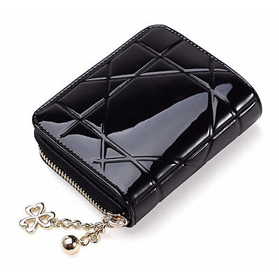 Fashion Women Leather Small Wallet Lady Card Holder Zip Coin Purse Bag simline fashion genuine leather real cowhide women lady short slim wallet wallets purse card holder zipper coin pocket ladies