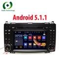 Quad Core 1024*600 2 din car DVD multimedia Android 5.1 for Mercedes/benz B200 W169 A160 Viano Vito GPS NAVI RADIO audio stereo