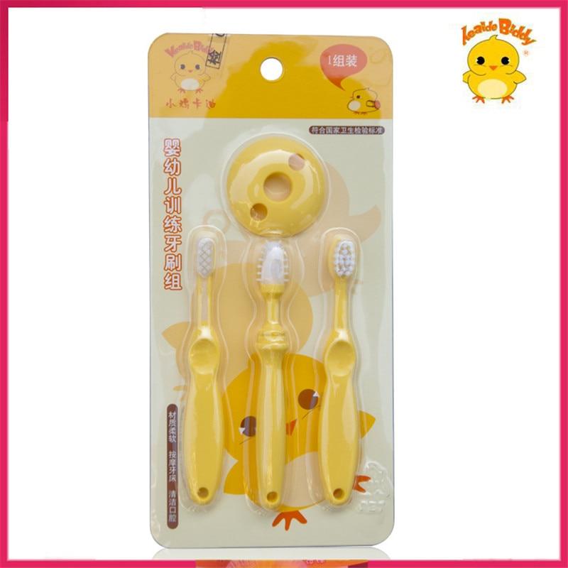 М'яка дитяча зубна щітка Teether для 6M-2Y силіконова кисть для чищення щіткою безпечний догляд за дитиною дитячої підготовки зубна щітка  t