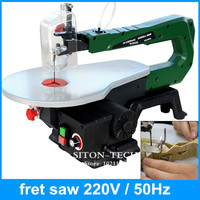 Soft Metal Carved Wooden Bed Garland Saw Power Driven Mini Power Saws Speed Governing Electric Jig
