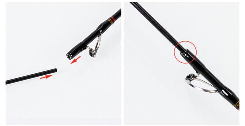 vara telescópica 1.1 m 1.35 m viagem isca vara de pesca venda