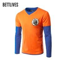 Bettlivesアニメ男性のtシャツドラゴンボール2017拡張ヒップホップストリートtシャツ卸売ファッションブランドtシャツの男