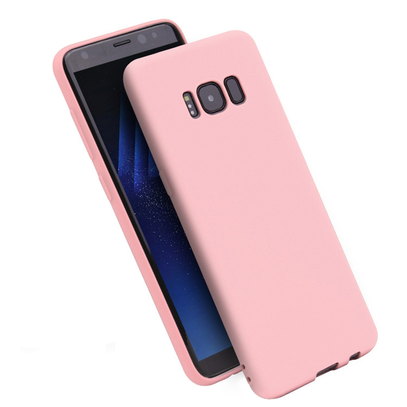 Scrub Silicone Soft TPU Case For Samsung Galaxy S8 Plus S7 Edge J2 J3 J5 J7 Prime 2017 A3 A5 A7 2018 C5 C7 C9 Pro Cover
