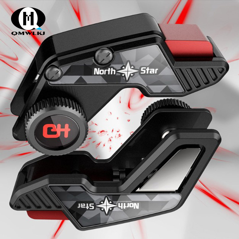 Image 2 - S8 PUBG Smartphone Game Controller  joystick Fast Shooting Trigger Aim Button L1 R1 Key For Pugb Mobile Game For xiaomi iphone-in Gamepads from Consumer Electronics