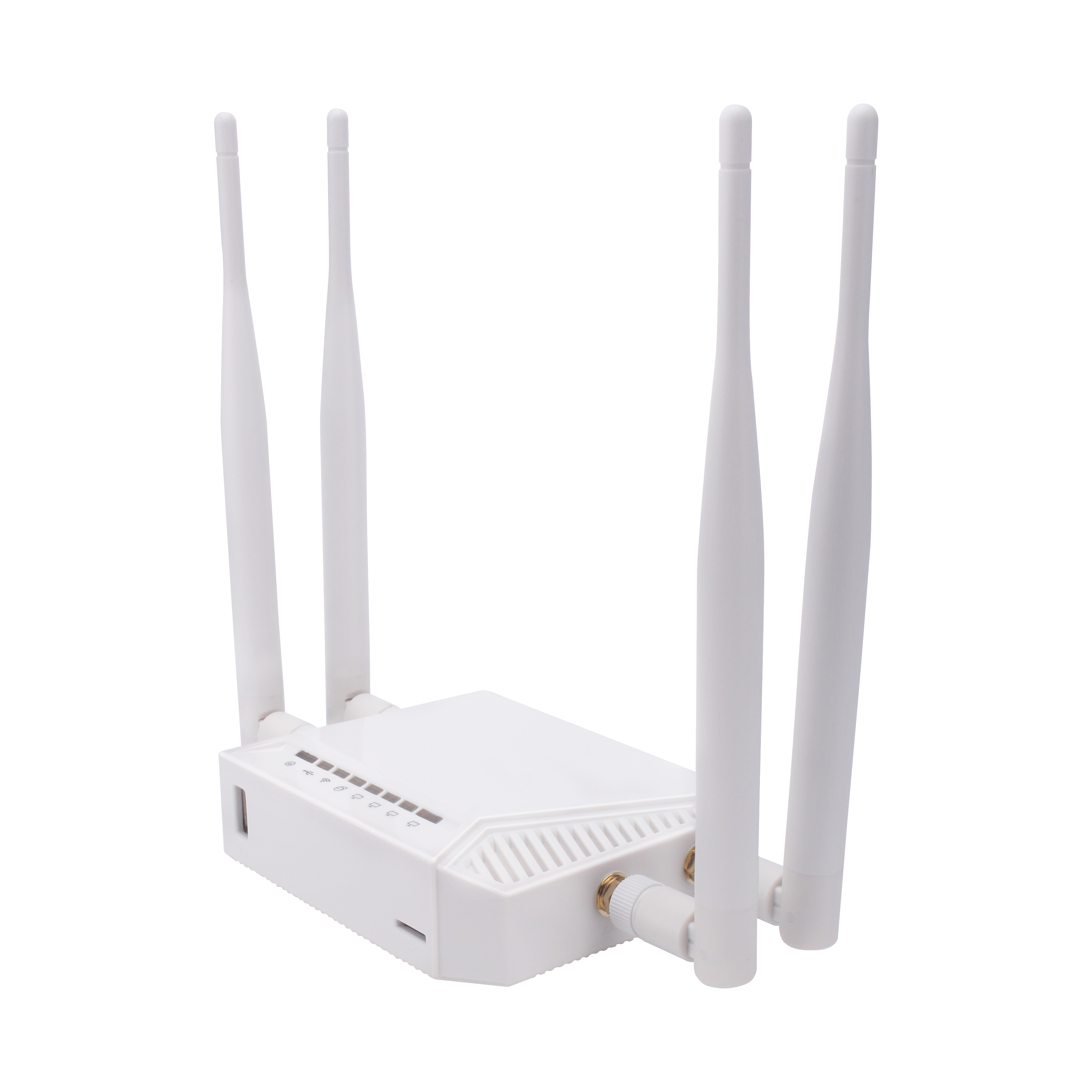 Image 2 - Kuwfi 3G/4G SIM Card Slot Wifi Router OpenWrt 300Mbps High Power Wireless Router Repeater with VPN Function and 4*5dBi Antenna-in Wireless Routers from Computer & Office