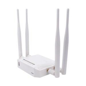 Image 2 - Kuwfi 3G/4G emplacement pour carte SIM routeur Wifi OpenWrt 300Mbps haute puissance routeur sans fil répéteur avec fonction VPN et antenne 4 * 5dBi