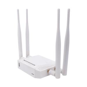 Image 2 - Kuwfi 3g/4g sim slot para cartão wifi roteador openwrt 300mbps roteador sem fio de alta potência repetidor com função vpn e 4 * antena 5dbi