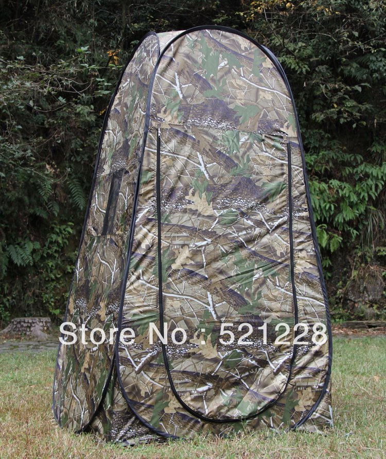 Automatic pop up Bath Moving toilet shower photography camouflage changing room watching bird hunting outdoor camping tent