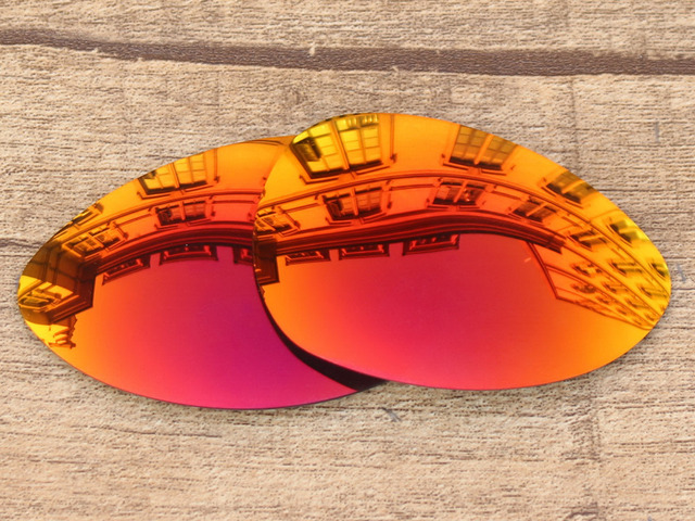 Aliexpress.com : Buy Fire Red Mirror Polarized Replacement Lenses ...