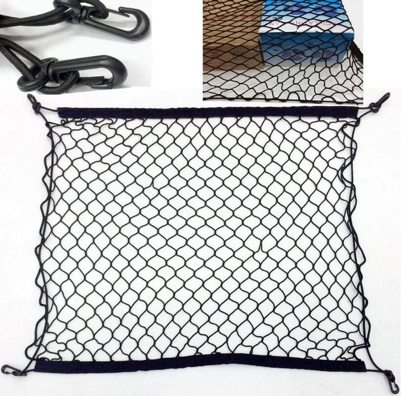 Car Trunk Luggage Storage Cargo Organiser Nylon Elastic Mesh Net With For Skoda Yeti Octavia 2 a5 a7 Superb Fabia Accessories