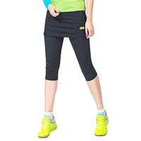 Tennis Skort Ladies Fake Two Pieces Badminton Clothes Legging Sport Zumaba Women Badminton Skirt Tennis Skirt Gym