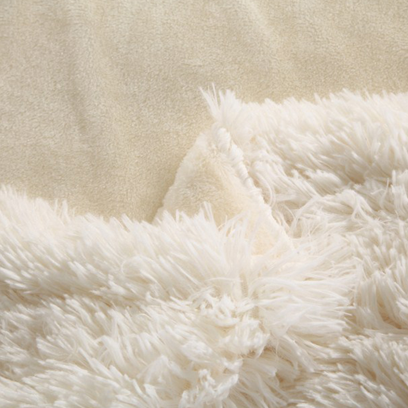 2016 super soft warm long hair mink cashmere blanket bed sheet sofa plane travel throw long mink fabric bed quilt rose embossed
